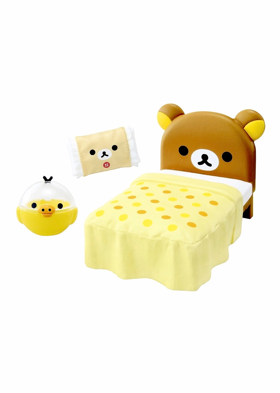 Re-Ment Rilakkuma Room Blind Box series bedroom furniture