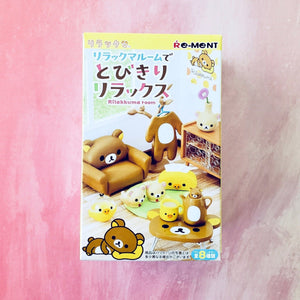 Re-Ment Rilakkuma Room Blind Box series front box view