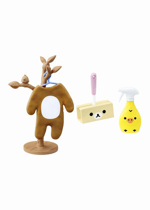 Re-Ment Rilakkuma Room Blind Box series costume hook and cleaning accessories