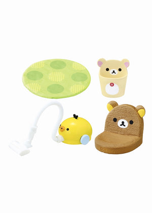 Re-Ment Rilakkuma Room Blind Box series vacuum, rug, chair pad