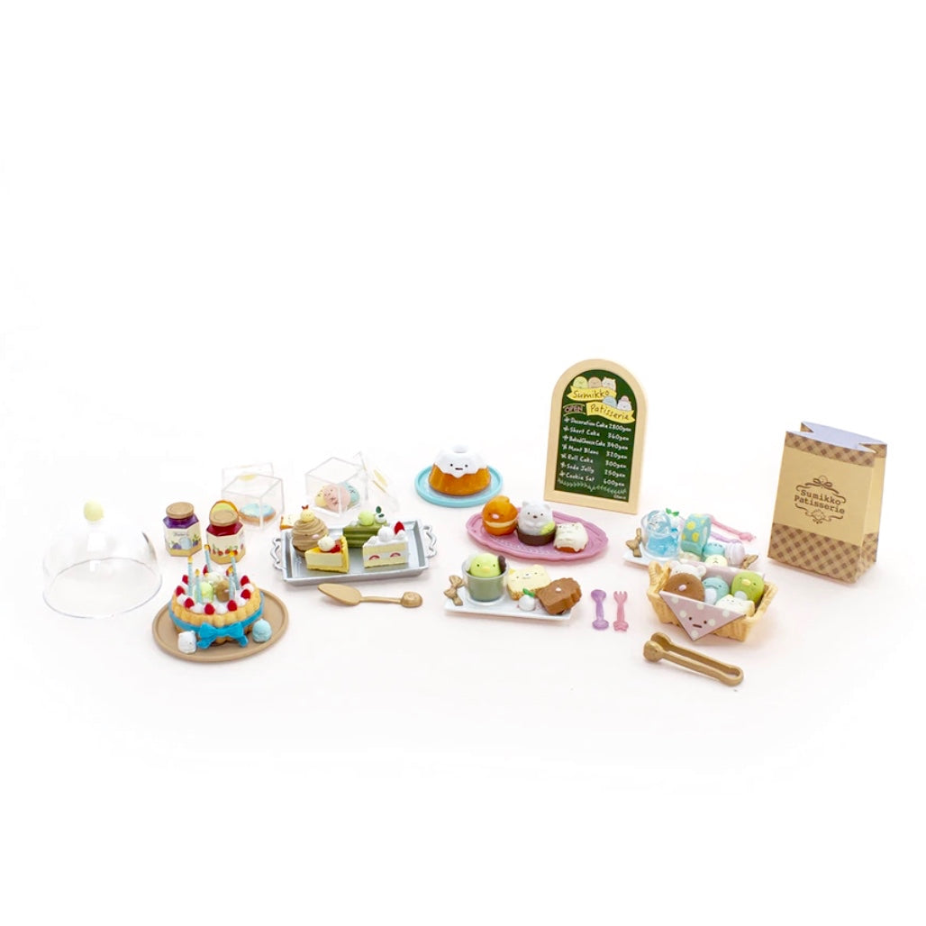 entire series of re-ment sumikko gurashi patisserie blind box series