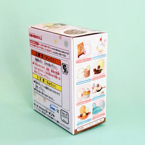 Japanese Re-Ment Sumikko Gurashi Homemade Sweets Blind Box series right side box view