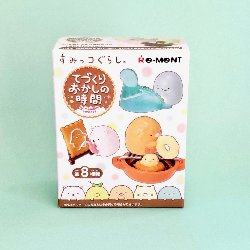 Japanese Re-Ment Sumikko Gurashi Homemade Sweets Blind Box series front box view