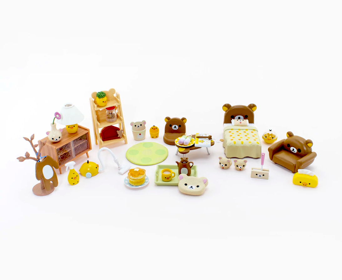 Re-Ment Rilakkuma Room Blind Box series entire collection