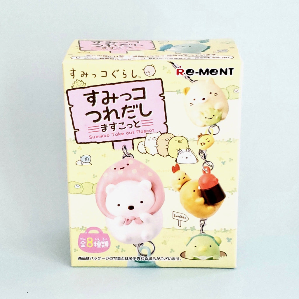 Re-Ment San-X Sumikko Gurashi Sumikko Take Out Mascot series front box view