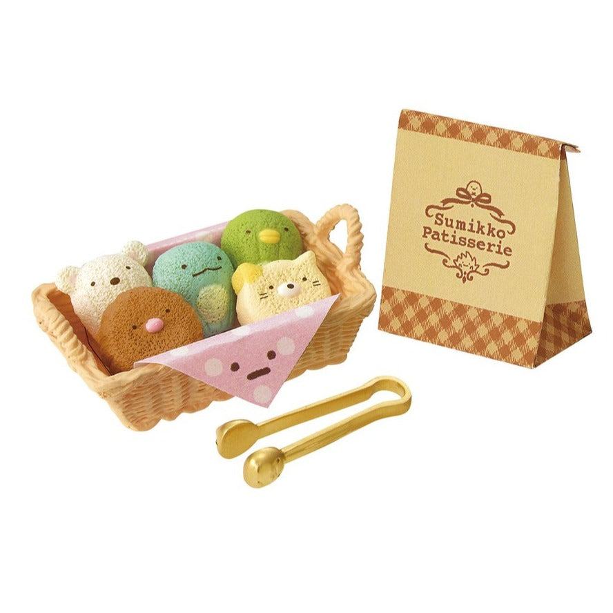 bread basket in re-ment sumikko gurashi patisserie blind box series