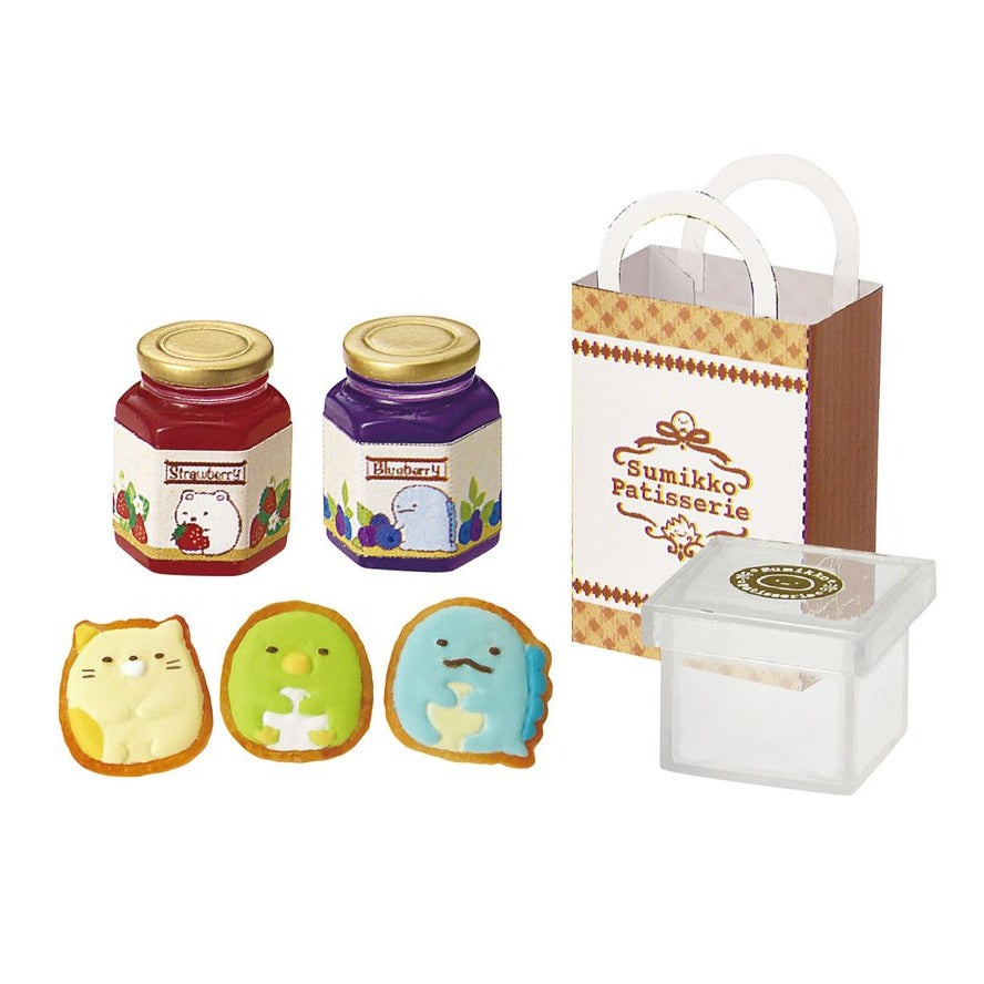 cookies and jelly in re-ment sumikko gurashi patisserie blind box series