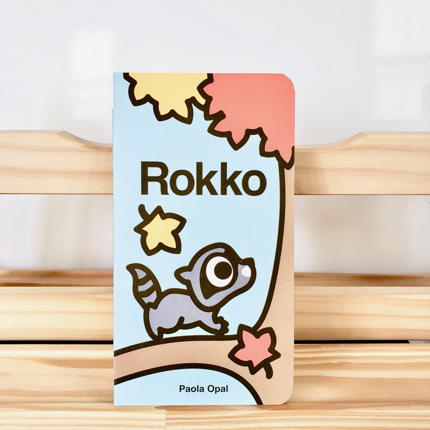 Cute Children Books | Simply Small Series by Paola Opal: Rokko front cover