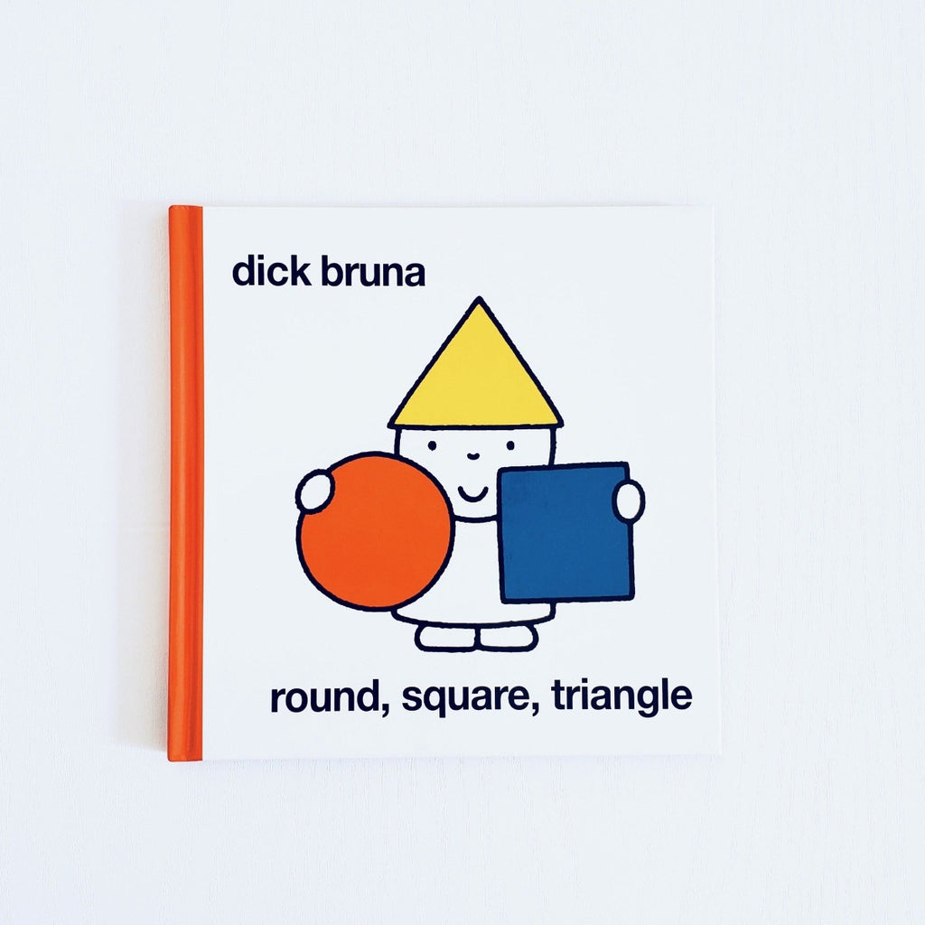 Dick Bruna Round Square Triangle front cover