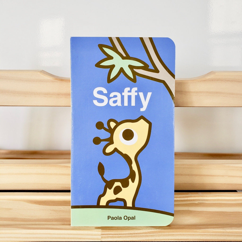 Cute Children Books | Simply Small Series by Paola Opal: Saffy front cover