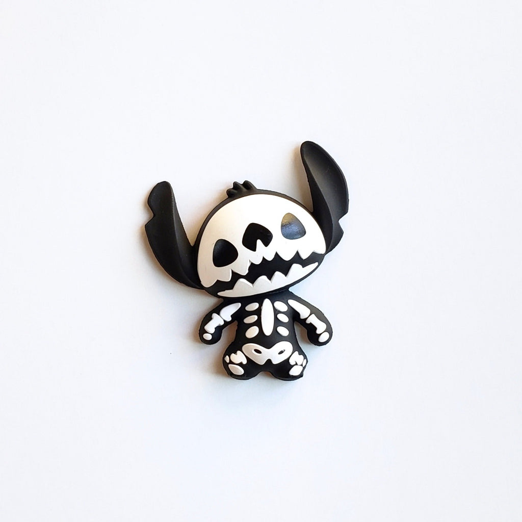 Disney Stitch Skeleton 3D vinyl figure magnet