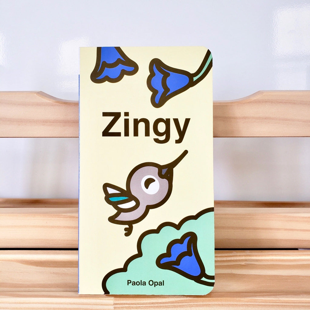 Cute Children Books | Simply Small Series by Paola Opal: Zingy front cover