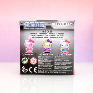 back box view of Hello Kitty Metalfigs