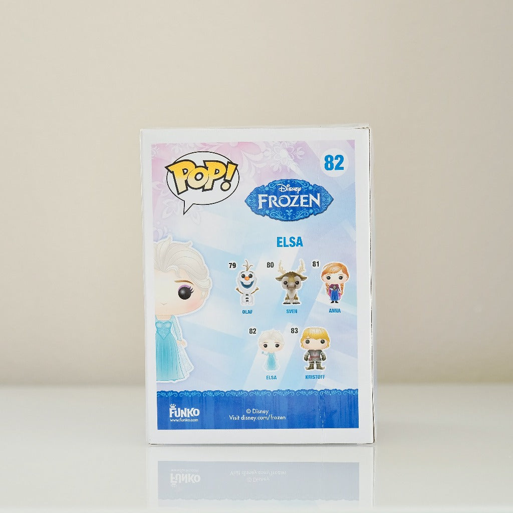 Frozen POP! Disney Frozen Elsa #82 back view