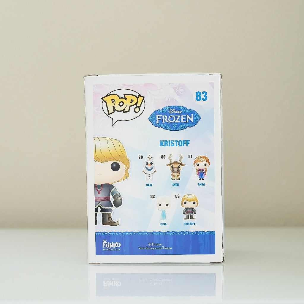 Funko POP! Disney Frozen Kristoff #83 back view