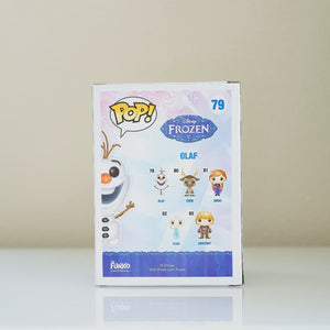 Funko POP! Disney Frozen Olaf #79 back view