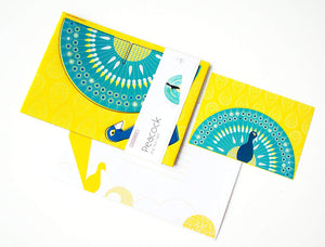 cute greeting cards studio ROOF cute pop out card Peacock Dutch/Netherlands