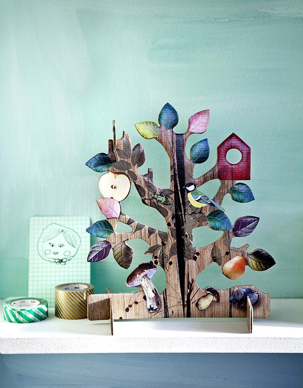 studio ROOF cute pop out card Tree of Life Wish Dutch/Netherlands
