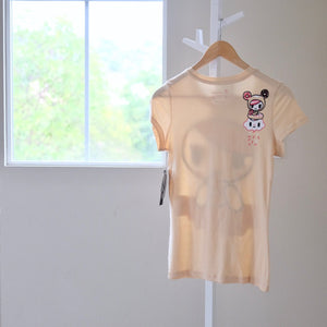 tokidoki Dunking Donut t-shirt with Donutella back view