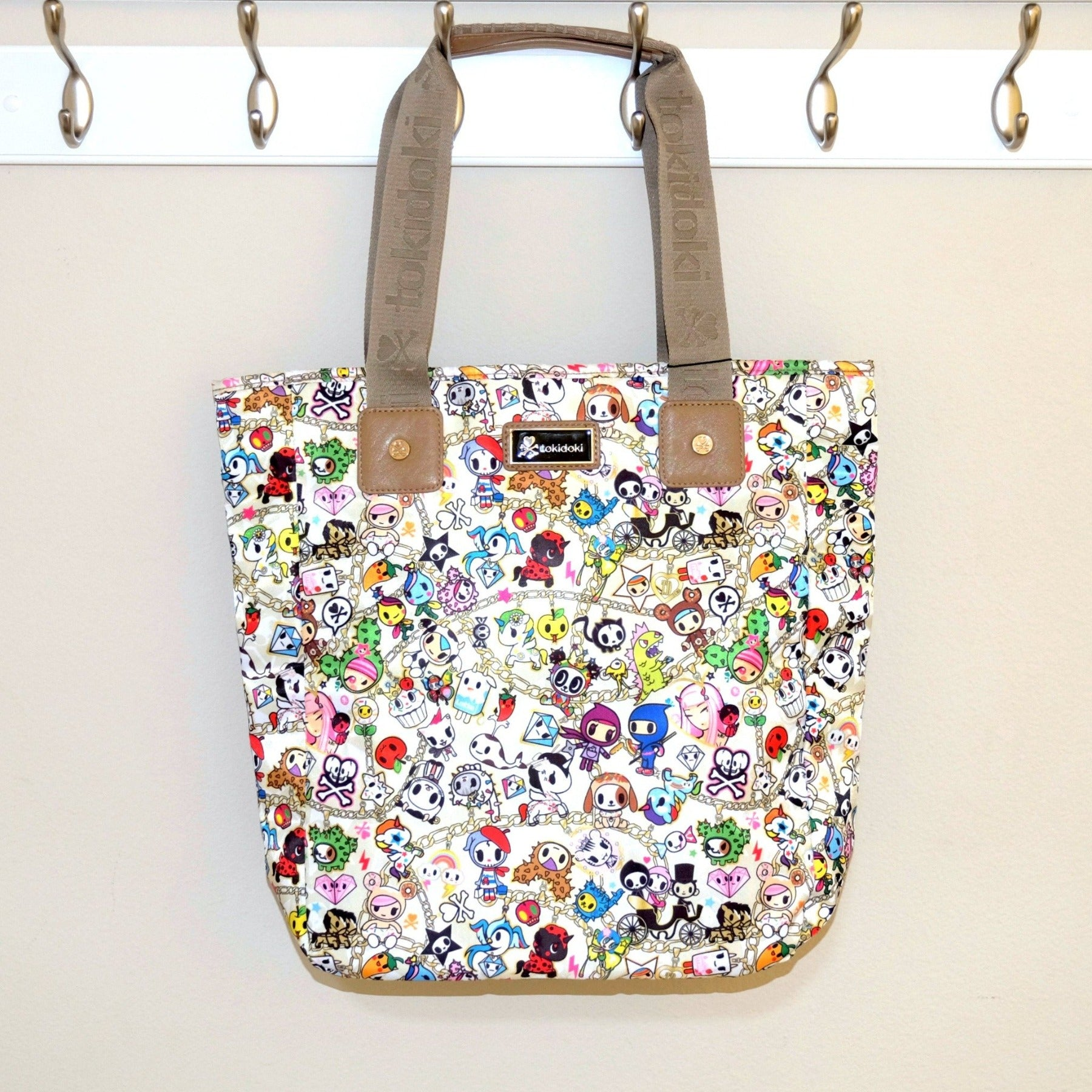 kawaii tokidoki chained love collection shopper tote