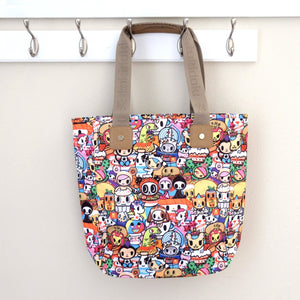 tokidoki food collection shopper tote