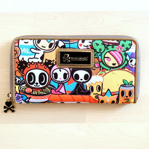 tokidoki Food Collection: Long Zip Around Wallet