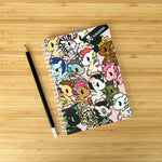 Kawaii Stationery Tokidoki Unicorno Plastic Cover Spiral Notebook