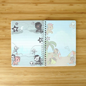 Kawaii Stationery Tokidoki Unicorno Plastic Cover Spiral Notebook Pages
