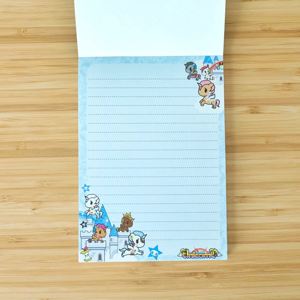 cute stationery tokidoki unicorno tear out notepad