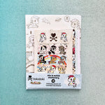 tokidoki unicorno stationery set front view