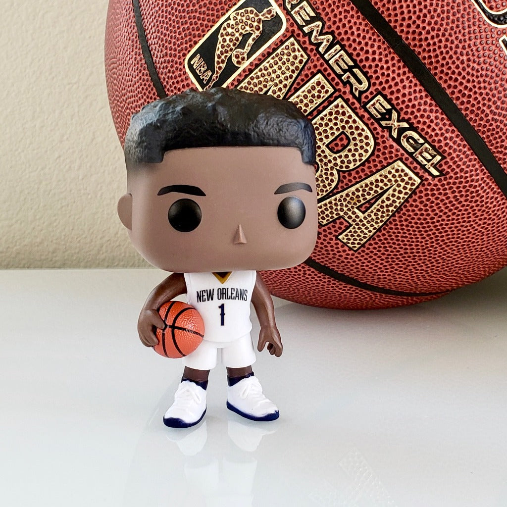 Funko POP! NBA New Orleans Pelicans Zion Williamson 62 (front)