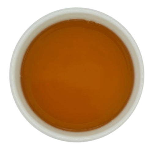 Castleton Estate's oolong yields a lovely amber liquor.