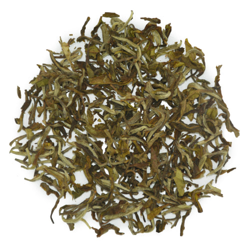 Castleton Estate white tea, a limited Darjeeling production.