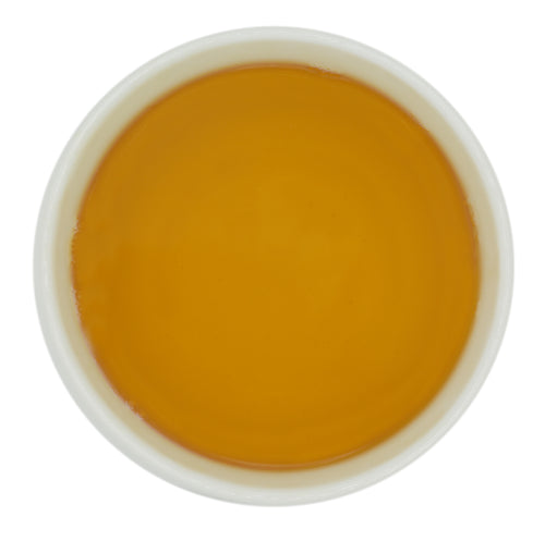 A golden liquor reminiscent of the finest Darjeeling spring teas.
