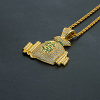 Money Stacks Pendant