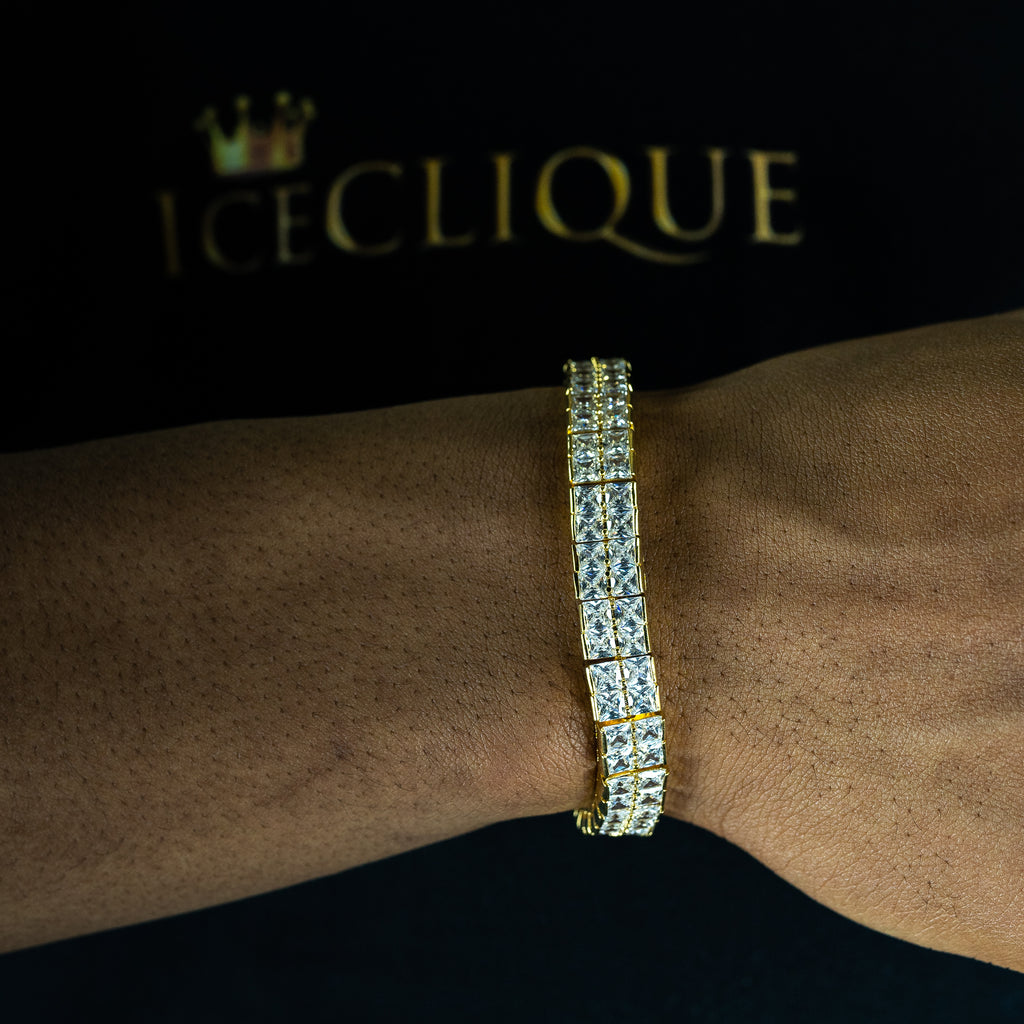 10mm 2 Row Tennis Bracelet