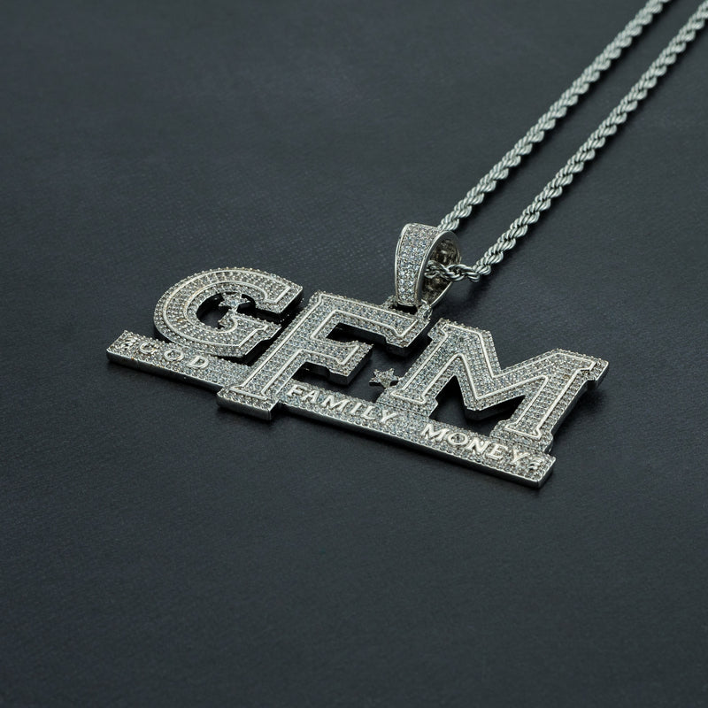 GOD FAMILY MONEY Pendant