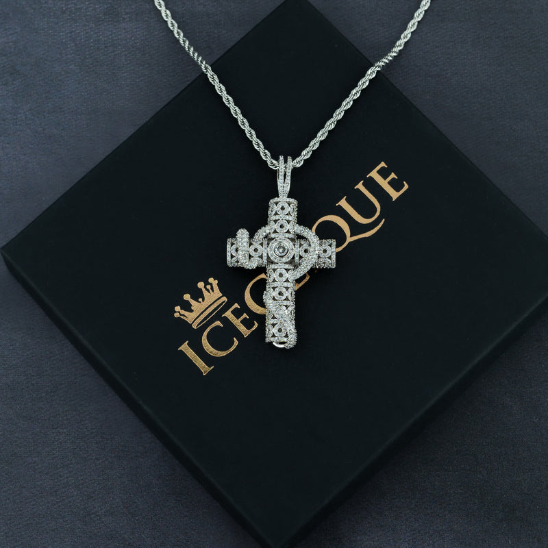 Snake Cross Pendant