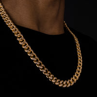 12mm Iced Cuban Chain