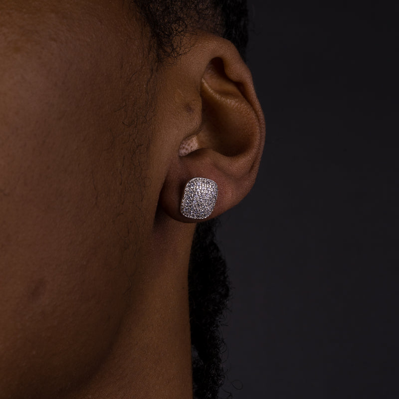 10mm Round Cluster Earrings