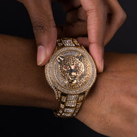 Iced Cheetah Watch