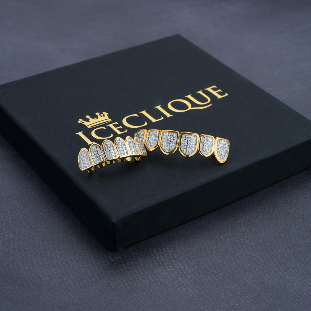 IceBlind Iced Gold Grillz