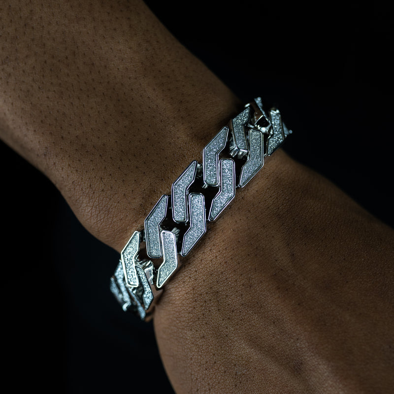 15mm Symmetrical 9 Inch Cuban Bracelet