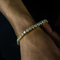 5mm Round Cut Tennis Bracelet