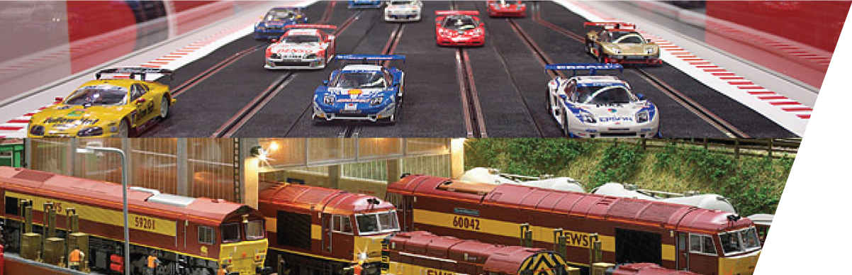 Slot Cars & Trains