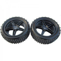 RCG 1:10 4wd Fr Buggy Wheel and Tyre Set - RCG-06010