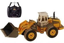 HOBBY ENGINES 1:14 Scale Construction Loader with 2.4Ghz Radio, Battery and Charger - HE0806