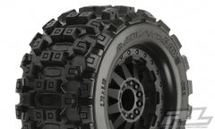 PROLINE Badlands MX28 2.8in Tyres Mounted suit Rustler RR - PR10125-14