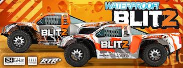 HPI BLITZ RTR with 2.4Ghz Radio System and Brushed Motor - HPI-105832