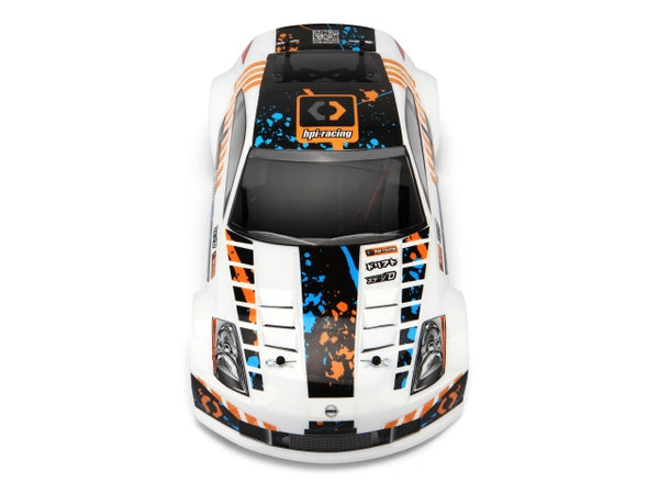 HPI SPRINT 2 DRIFT NISSAN 350Z with 2.4Ghz Radio System, 2000mah Nimh Battery, AC Charger & AA Alkaline Radio Batteries - HPI-106154